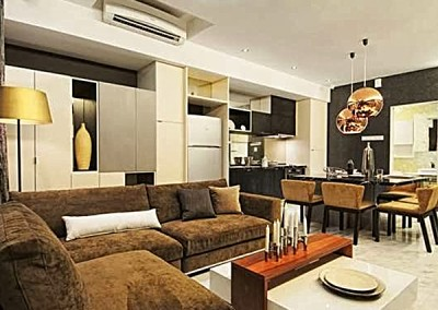 Professional Photo- MetroLux Living Area